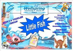 Wellspring Little fish poster landscape